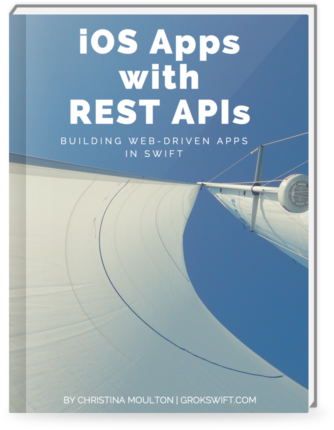 iOS Apps with REST APIs Cover