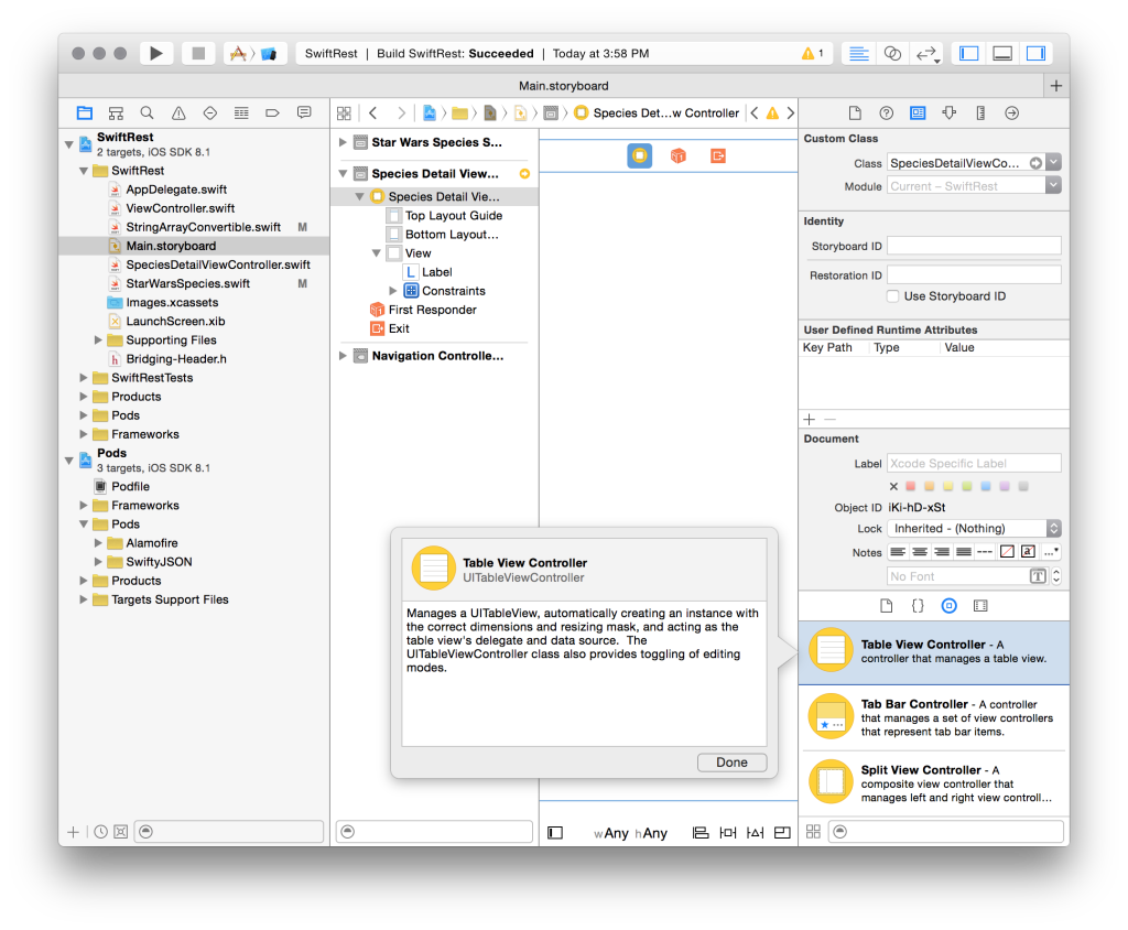 JSON Parsing & Detail View Segues in Swift - Grok Swift